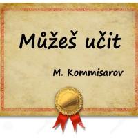 Certifikace od Marka Komissarova (ilustrace)