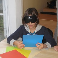Poznávání barev pomocí intuitivního vidění